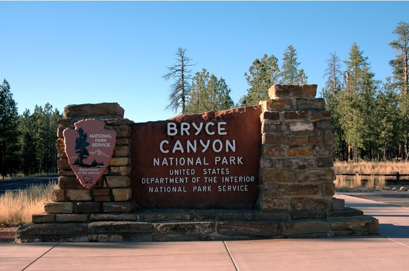 Photo Bryce Canyon National Park formed