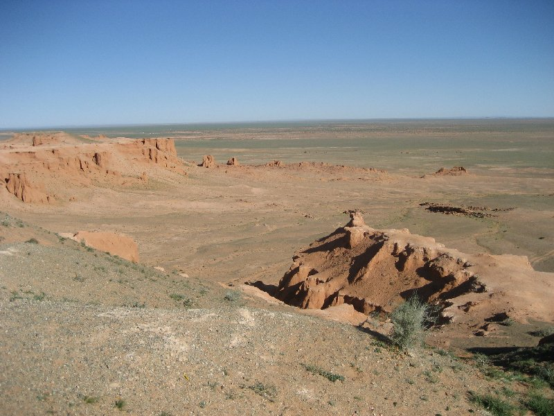 Photo The Gobi Desert in Mongolia between