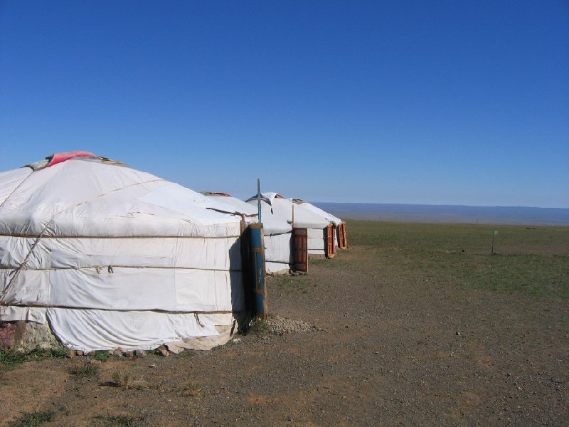 Photo The Gobi Desert in Mongolia herder