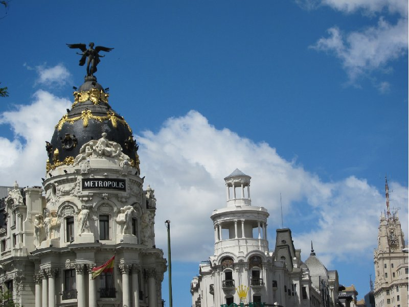 Round trip Spain: Madrid Picture gallery