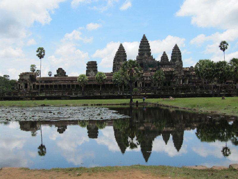 Photo Angkor Wat Cambodia archeological