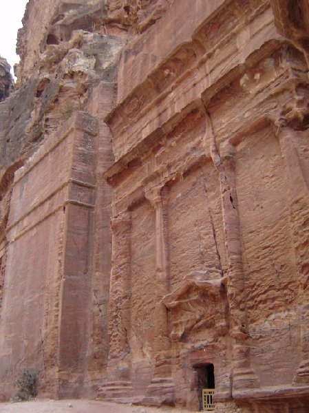 Photo The great temple of Petra monastery