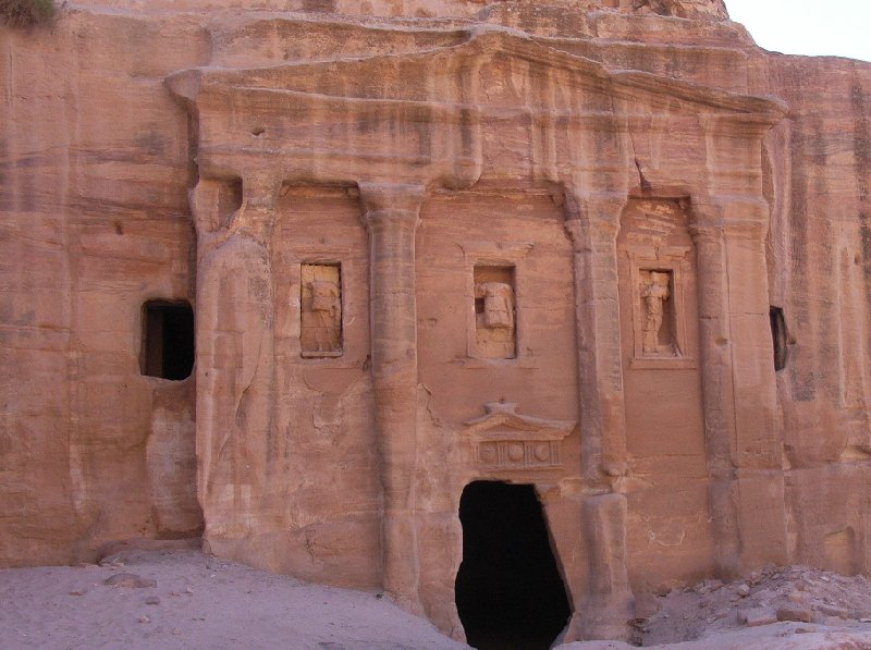Petra Jordan Vacation Picture