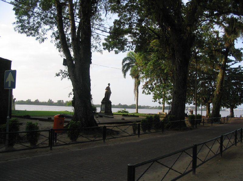 Photo The capital of Suriname stayed
