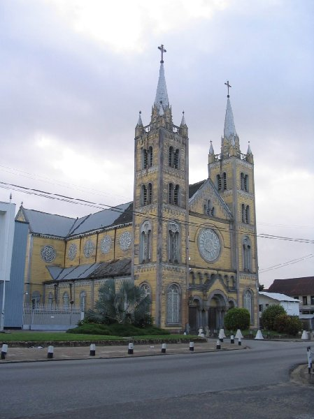 The capital of Suriname Paramaribo Pictures