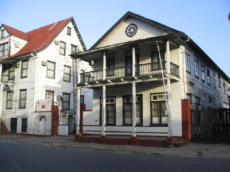 Photo The capital of Suriname Shalom