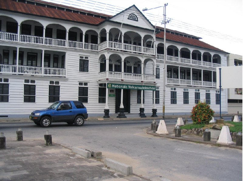 The capital of Suriname Paramaribo Blog Pictures