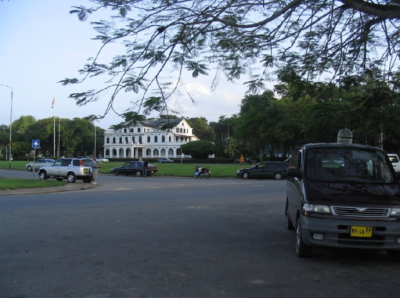The capital of Suriname Paramaribo Blog Picture