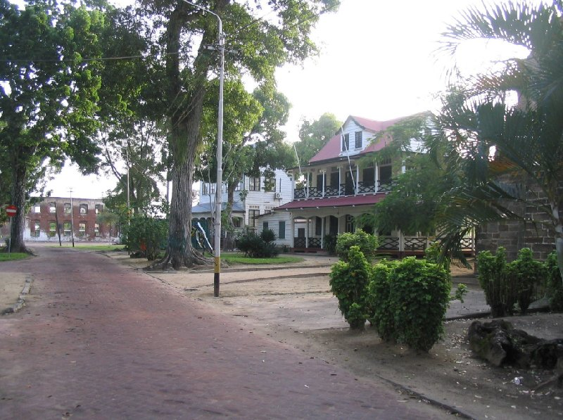 Photo The capital of Suriname places