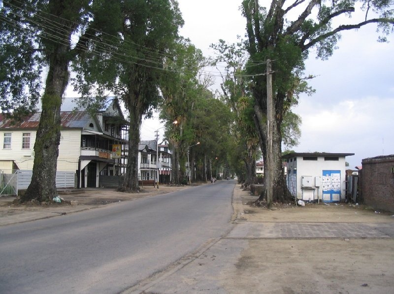 The capital of Suriname Paramaribo Vacation Diary