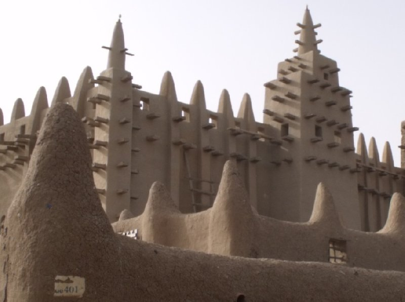 The Great Mosque of Timbuktu Mali Travel Blog
