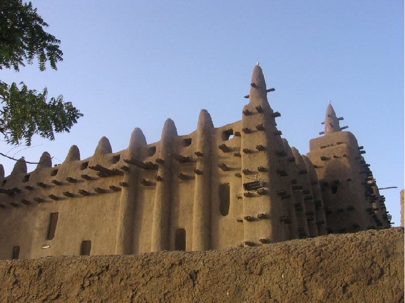 Photo The Great Mosque of Timbuktu Djinguereber