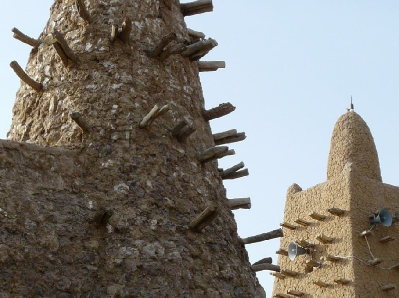 Photo The Great Mosque of Timbuktu played