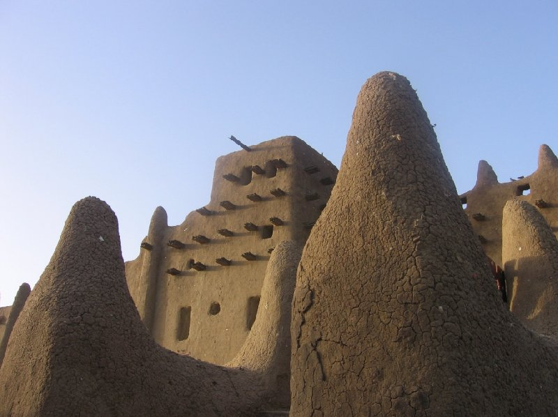 Photo The Great Mosque of Timbuktu houses