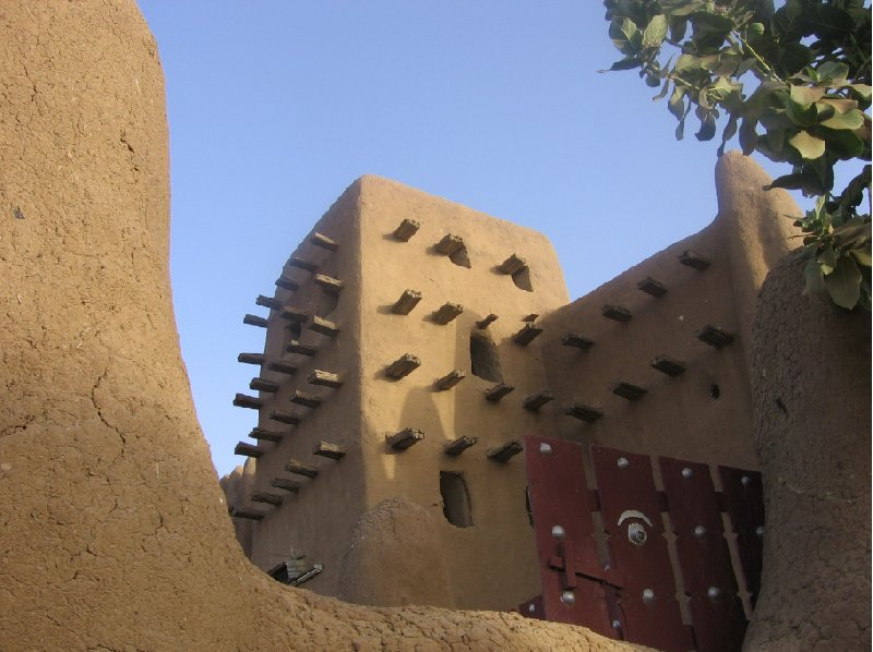 Photo The Great Mosque of Timbuktu largest