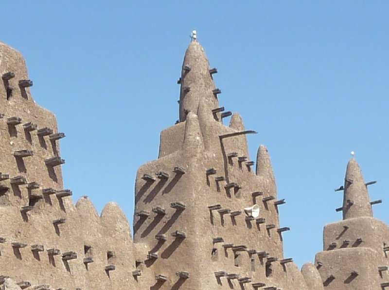 The Great Mosque of Timbuktu Mali Vacation Information