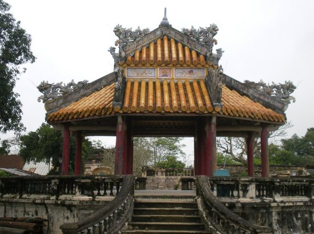 Photo Hue, the Forbidden City of Vietnam history