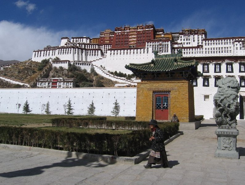 Tibet China Album Photographs