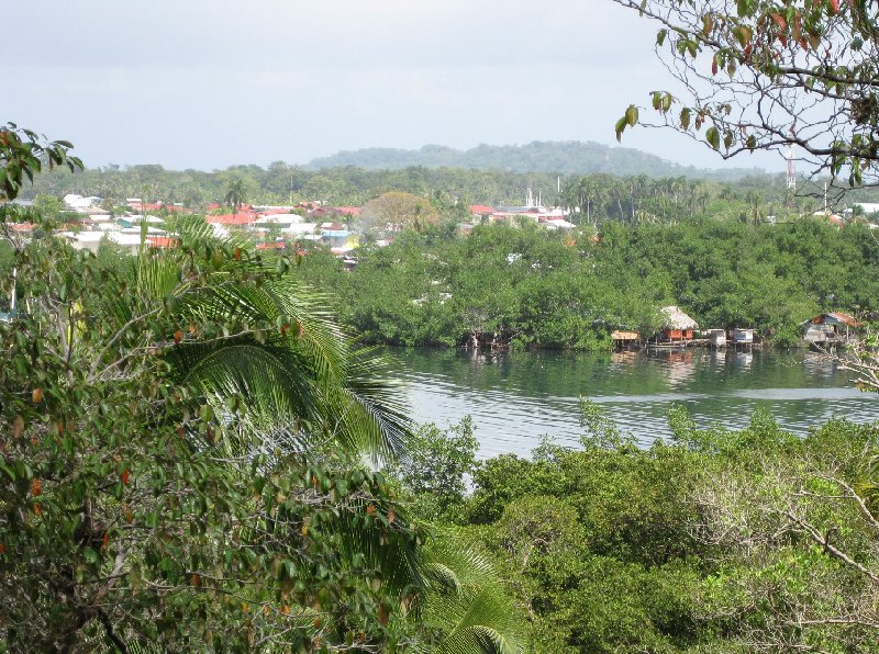 Bocas del Toro on Isla Colon Panama Album Photographs