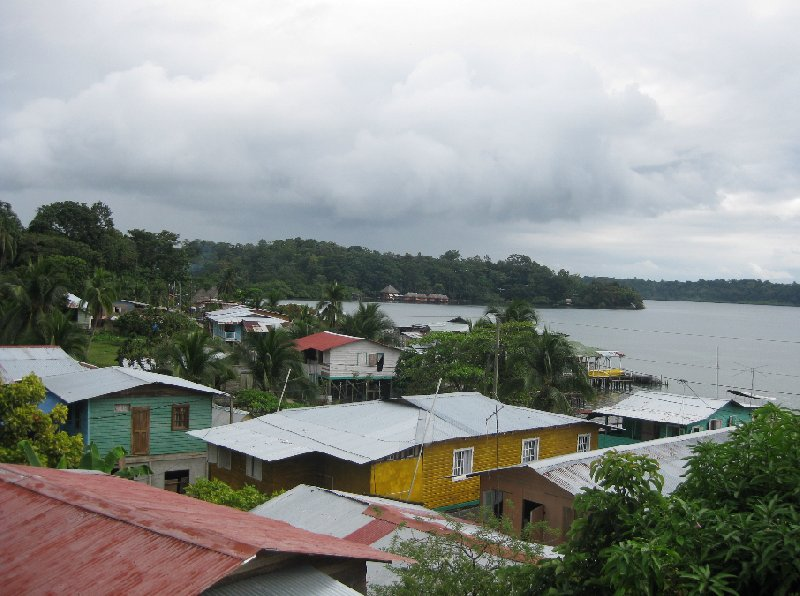 Bocas del Toro on Isla Colon Panama Vacation Pictures