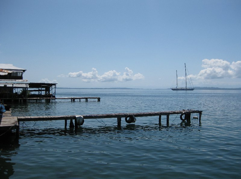 Bocas del Toro on Isla Colon Panama Travel Picture