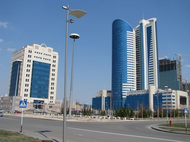 Photo Astana, the capital of Kazakhstan Mongolia
