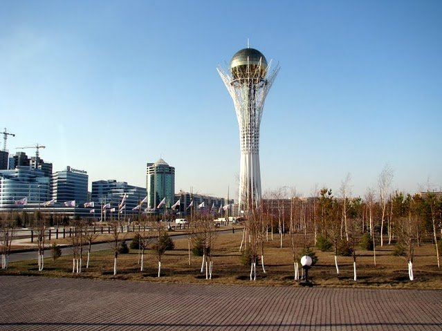 Photo Astana, the capital of Kazakhstan decided