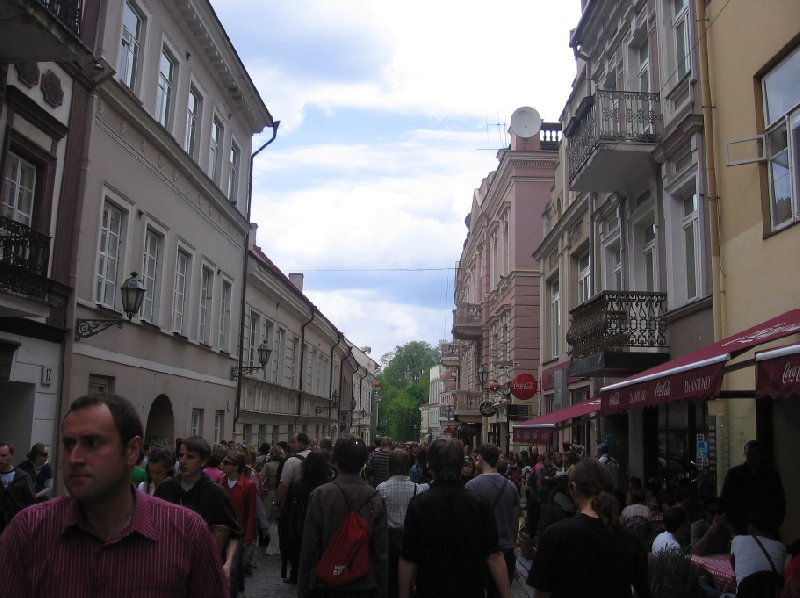 Photo Vilnius Lithuania pictures friendly