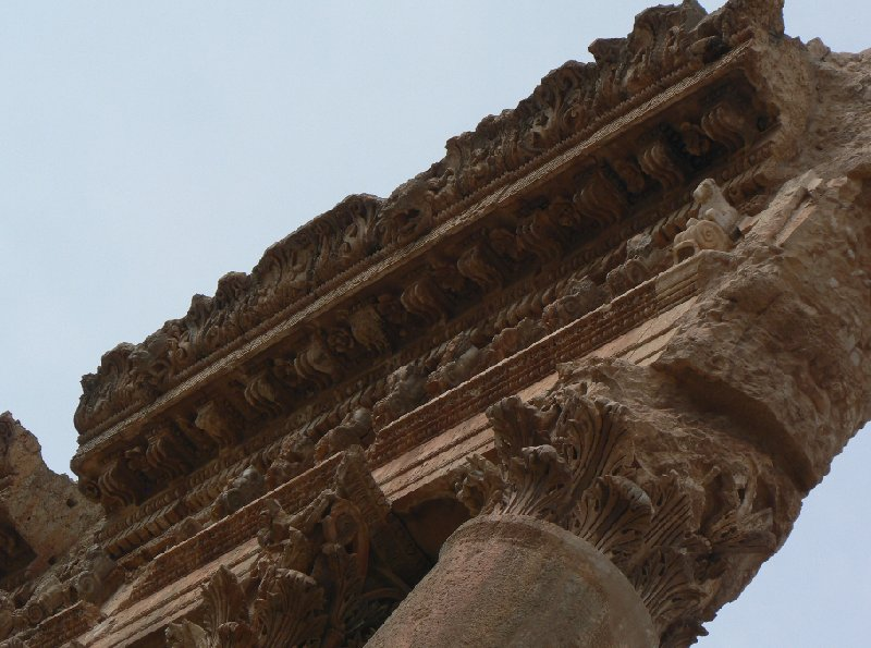 The Roman temple ruins of Baalbek Lebanon Diary Photos