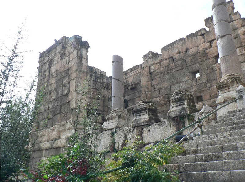 The Roman temple ruins of Baalbek Lebanon Travel Information