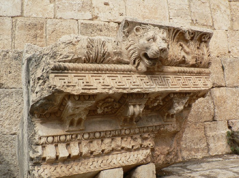 The Roman temple ruins of Baalbek Lebanon Album Pictures