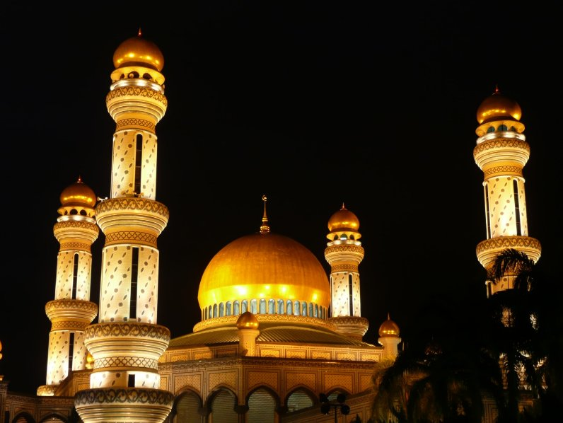 The Sultan Omar Ali Saifuddin Mosque Bandar Seri Begawan Brunei Travel Package