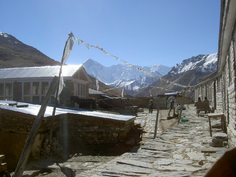 Photo Annapurna circuit trek map temples