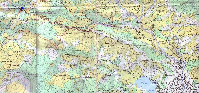 Photo Annapurna circuit trek map reasons