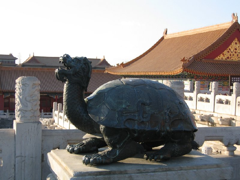 Photo Beijing and the Forbidden City wintertime
