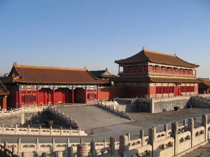 Photo Beijing and the Forbidden City landscapes