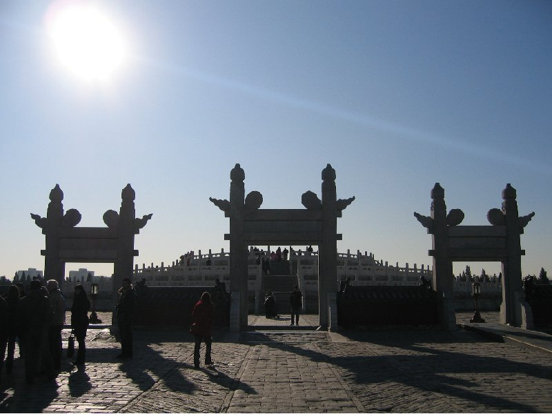 Photo Beijing and the Forbidden City touristic