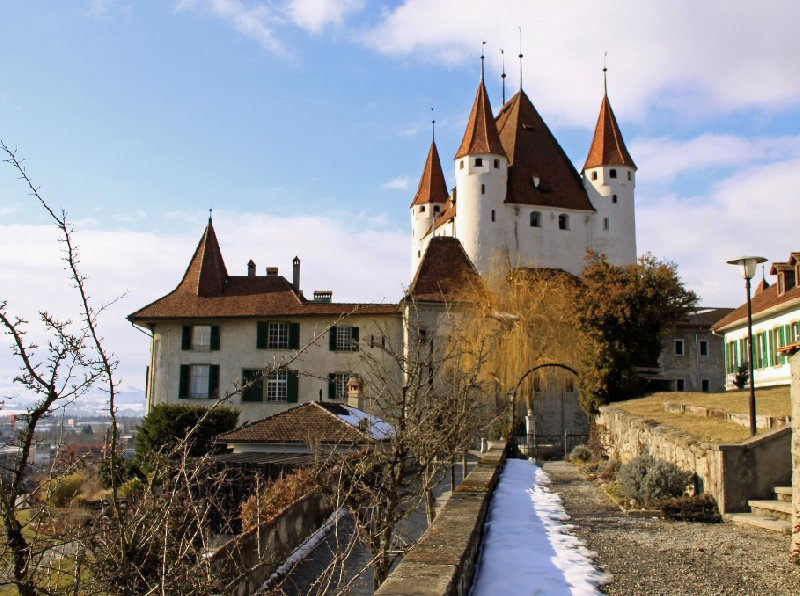 Photo Thun Castle and Museum luxuruy