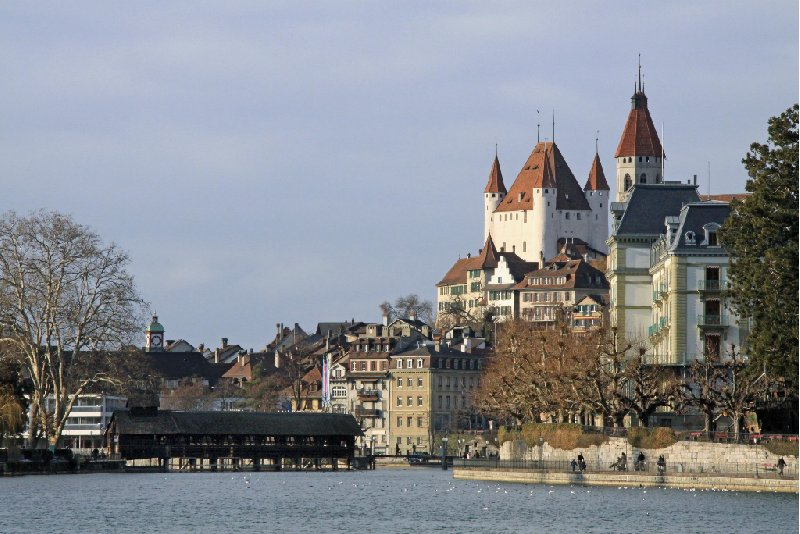 Photo Thun Castle and Museum pittoresque