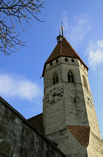 Thun Castle and Museum Switzerland Holiday Photos