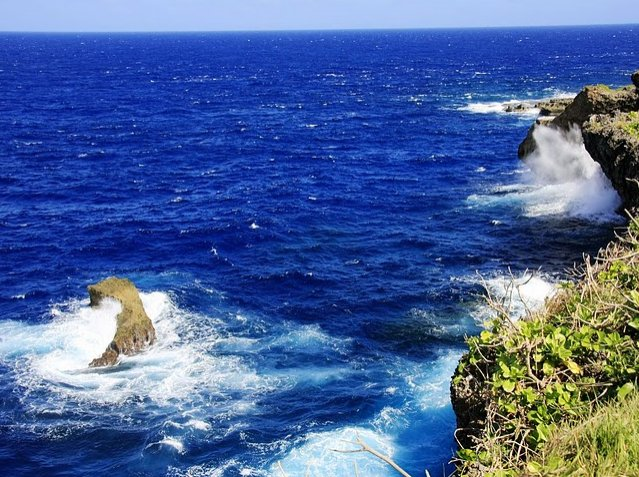 Photo Northern Mariana Islands Cliffs
