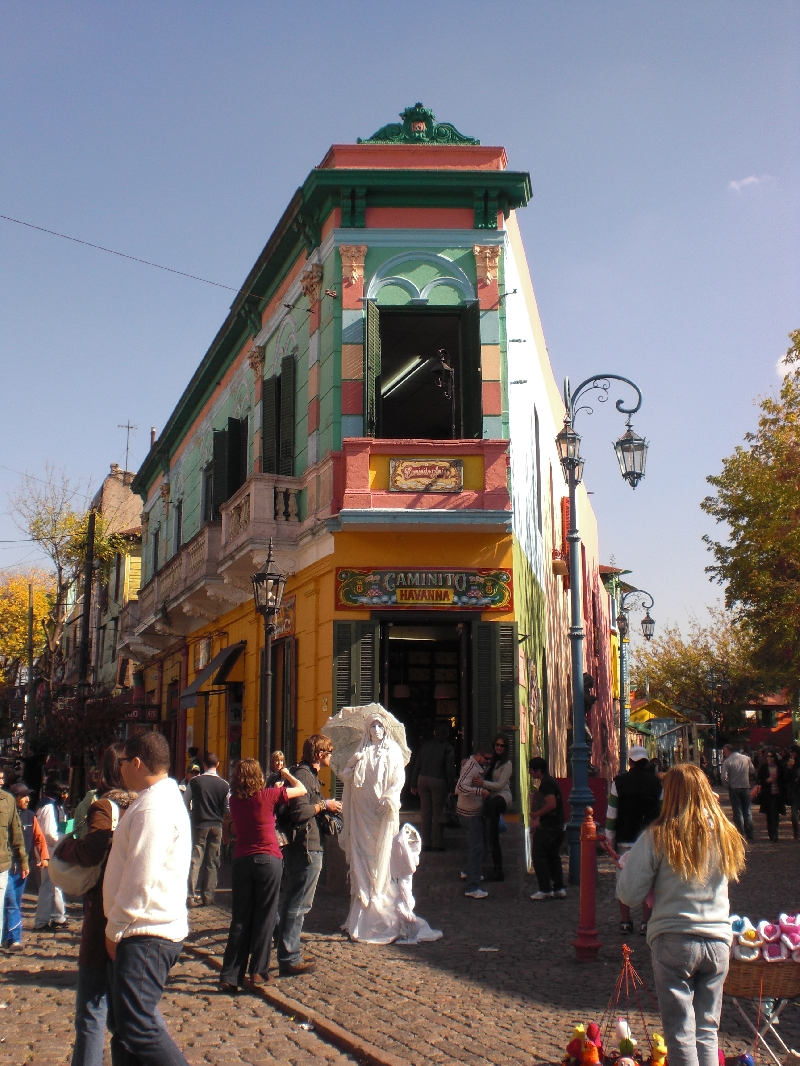 Photo Sights in the La Boca District, Buenos Aires districts