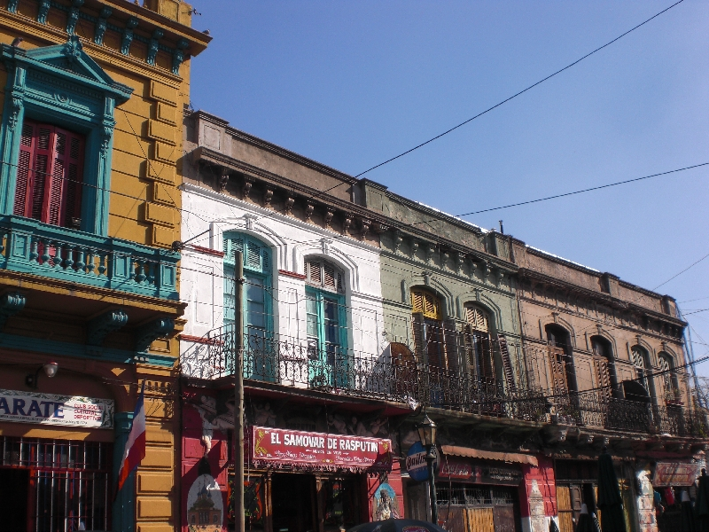 Photo Sights in the La Boca District, Buenos Aires neighbourhood