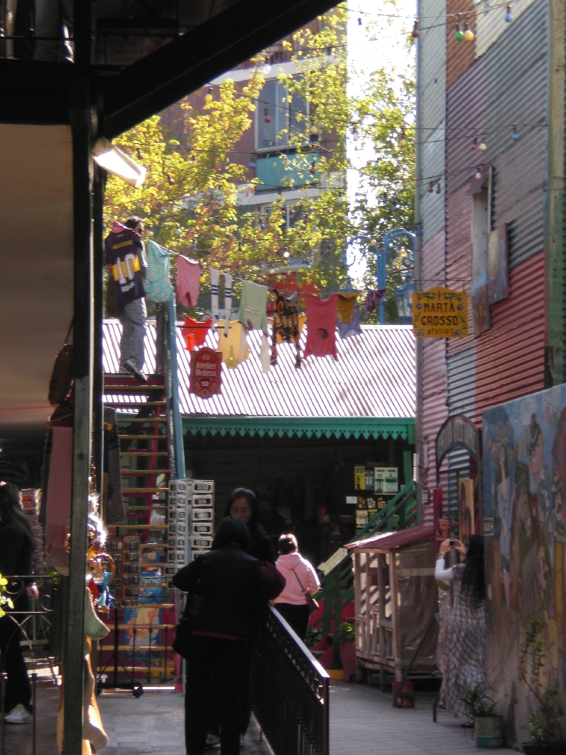 Photo Sights in the La Boca District, Buenos Aires settled