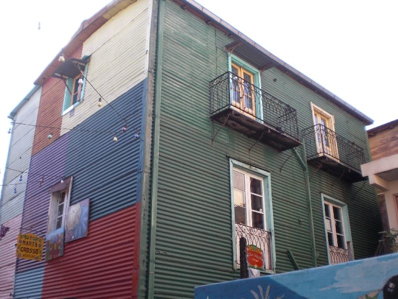 Photo Sights in the La Boca District, Buenos Aires famous