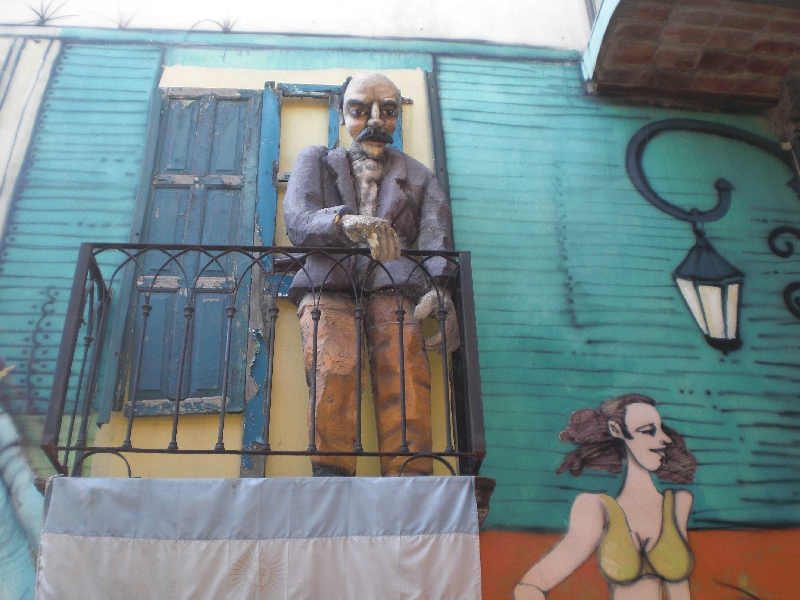 Photo Sights in the La Boca District, Buenos Aires tourists