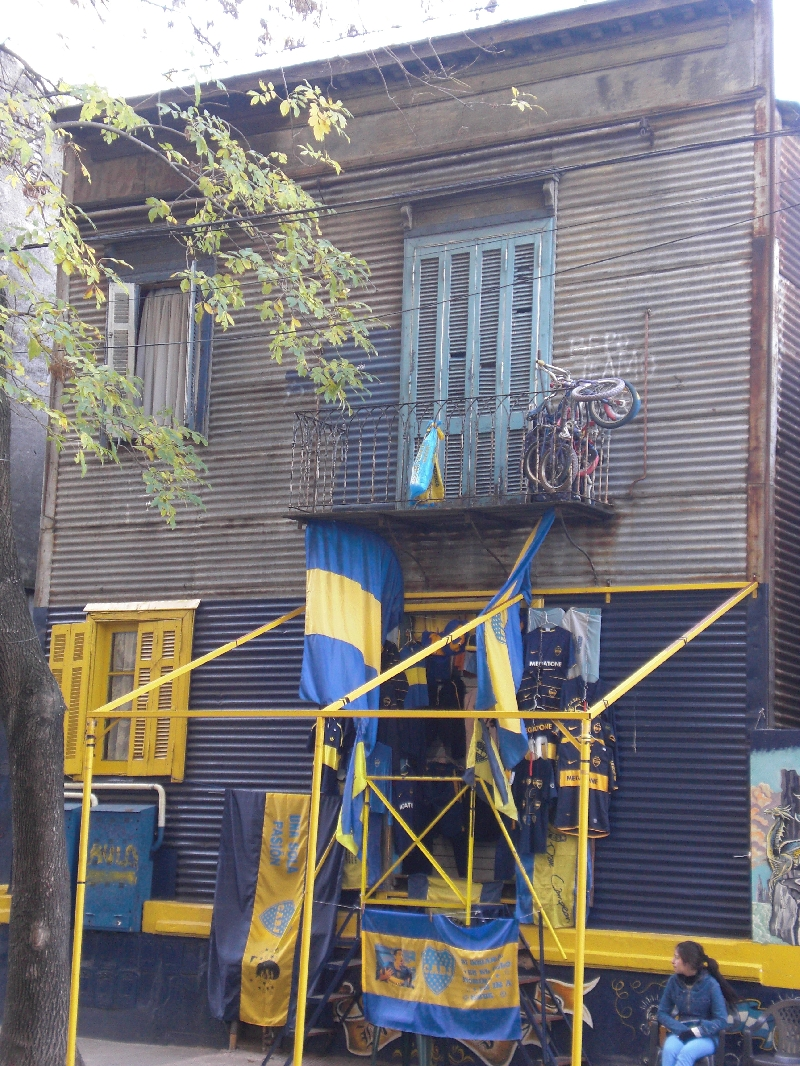 Photo Sights in the La Boca District, Buenos Aires Caminito
