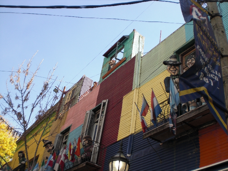 Photo Sights in the La Boca District, Buenos Aires street