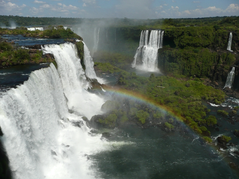 The Waterfalls at Puerto Iguazu Argentina Trip Pictures
