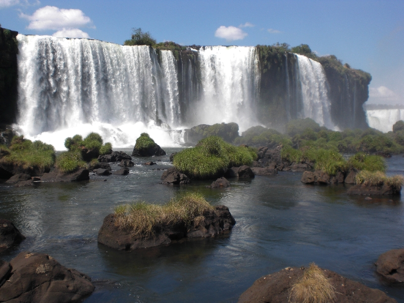 The Waterfalls at Puerto Iguazu Argentina Blog Review